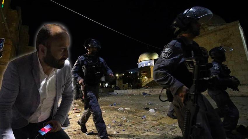 İsrail'in gözü döndü! Anadolu Ajansı çalışanını yaraladılar!