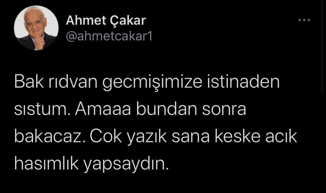 Ahmet Çakar'dan Rıdvan Dilmen'e sert sözler: Erdoğan'dan güç devşirme - Sayfa 4