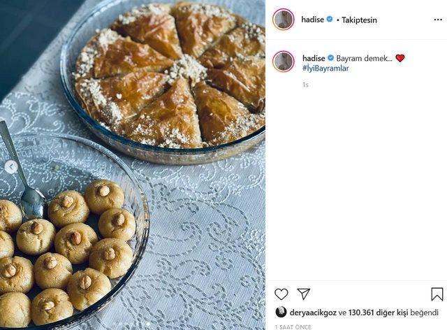 Hadise'nin 'bayram' paylaşımına beğeni yağdı! - Sayfa 4