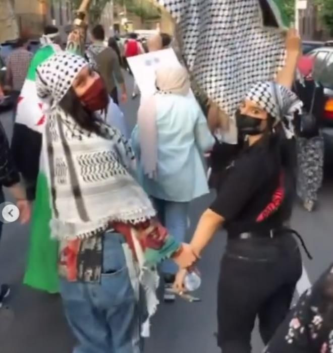 Bella Hadid, İsrail zulmüne dayanamayıp kendini sokağa attı! Amerika sokaklarında Filistin naraları - Sayfa 2