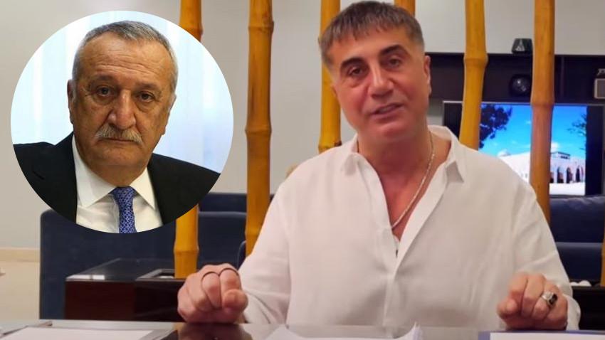 Sedat Peker, beşinci videoyu yayınladı: Mehmet Ağar'ın elinde yazılı emir var mıdır?