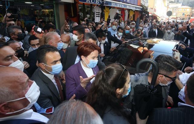 Akşener'e İkizdere'nin ardından Çayeli'nde de protesto! Domates ve su şişeleri atıldı - Sayfa 1