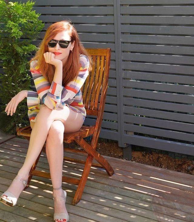 Güzel oyuncu Mine Tugay'ın paylaştığı fotoğrafa beğeni yağmuru - Sayfa 1