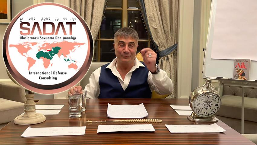 SADAT'tan Sedat Peker'in 'Suriye' iddialarına ilişkin flaş açıklama