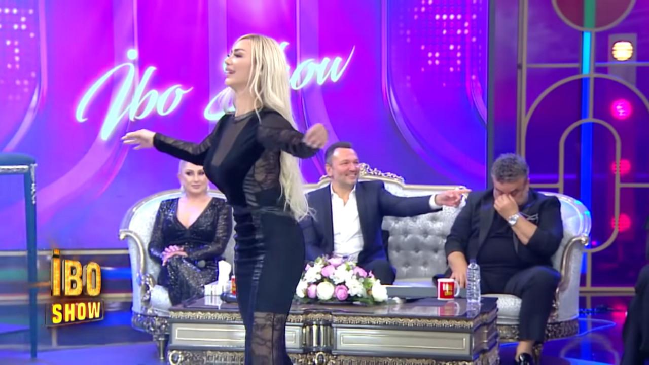 İbo Show'da Oryantal Didem'e bakmayan Bülent Serttaş'ın klibinde çıplak kadınlar oynadı