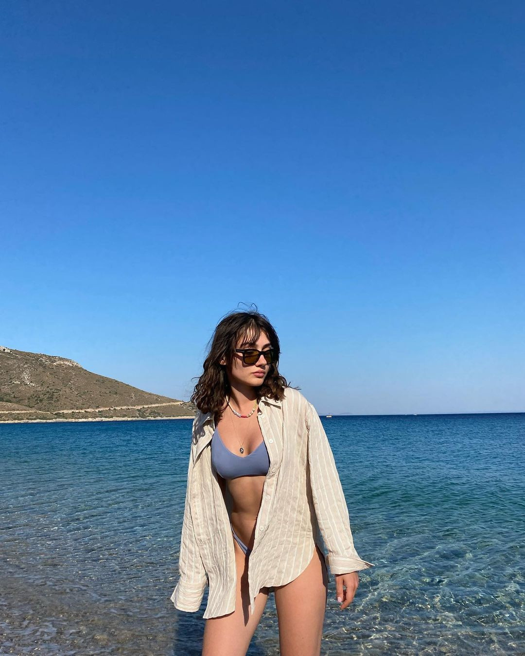 Uyanış Büyük Selçuklu'nun Turna Hatun'u Sevda Erginci bikini paylaşımı ile mest etti!