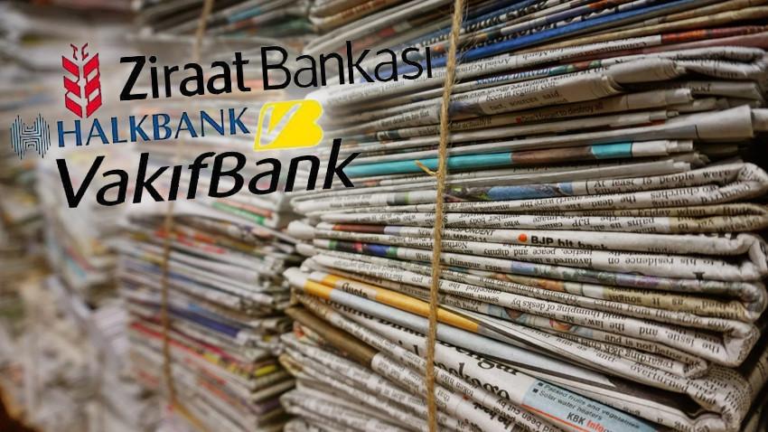 Kamu bankalarının hangi gazeteye ne kadar reklam verdiği belli oldu: MHP ayrıntısı dikkat çekti