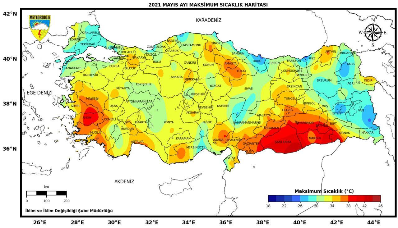 Meteorolojiden gelen haberler bu ay da kötü! Korkutan harita… - Sayfa 4