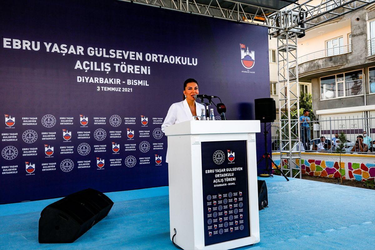 Ebru Yaşar Gülseven Ortaokulu açıldı: 'Mutluluğumuz tarif edilemez' - Sayfa 4
