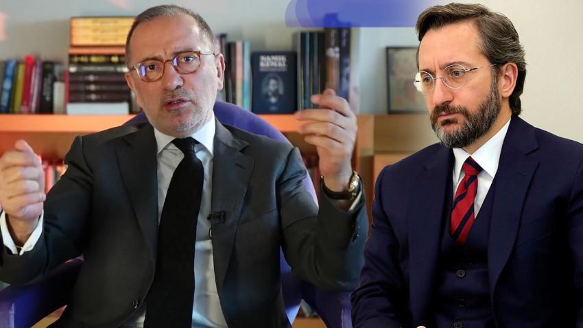 Fahrettin Altun'dan Fatih Altaylı'ya sert cevap! 'Habertürk'ü kınıyoruz…'