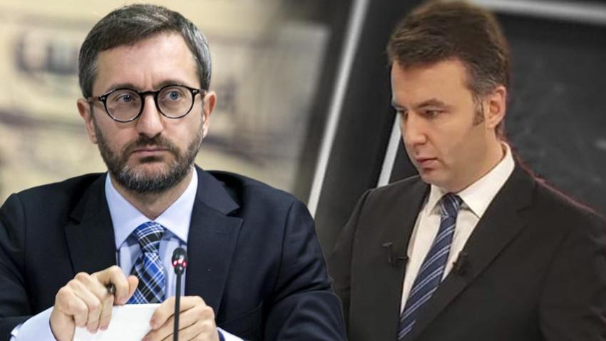 Habertürk TV sunucusu Mehmet Akif Ersoy'dan Fahrettin Altun'a cevap!