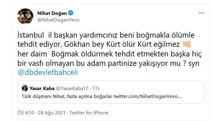 "MHP'li isimden, Nihat Doğan'a şok tehdit! ""Fazla açılma boğarlar!"" - Sayfa 2"