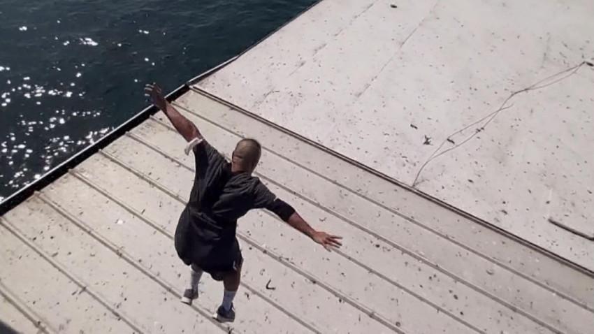 Sosyal medyada beğeni için köprüden atladı! Canını hiçe saydı!