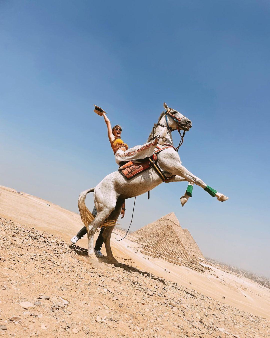 Mısır'da tatilde olan Şeyma Subaşı şaha kalktı! Aşk tam gaz devam ediyor... - Sayfa 4