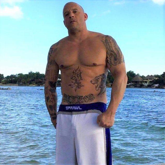 Vin Diesel'in eski halinden eser yok! Hızlı ve göbekli... - Sayfa 3