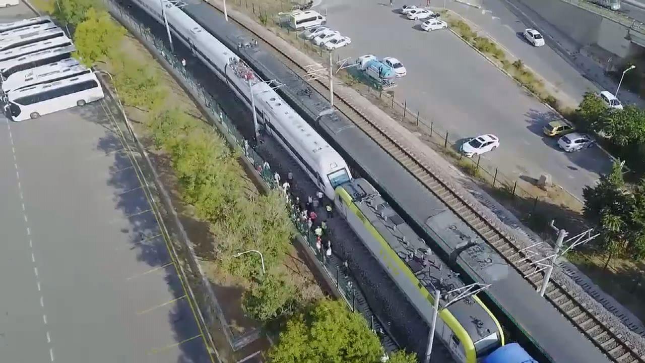Tuzla'da iki tren kafa kafaya geldi, facianın eşiğinden dönüldü - Sayfa 4