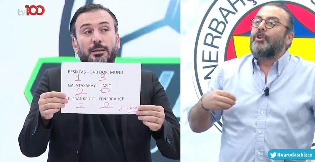 Ertem Şener'in Beşiktaş tahmini taraftarı kızdırdı - Sayfa 1