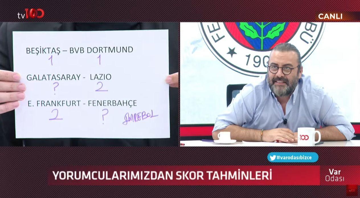 Ertem Şener'in Beşiktaş tahmini taraftarı kızdırdı - Sayfa 3