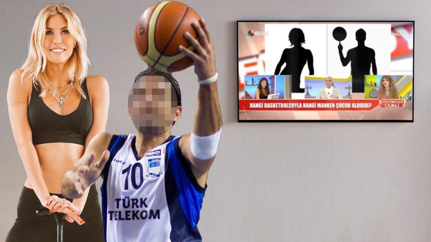 Canlı yayında bomba iddia! 'Çağla Şikel ünlü basketbolcudan gizlice bebek aldırdı'