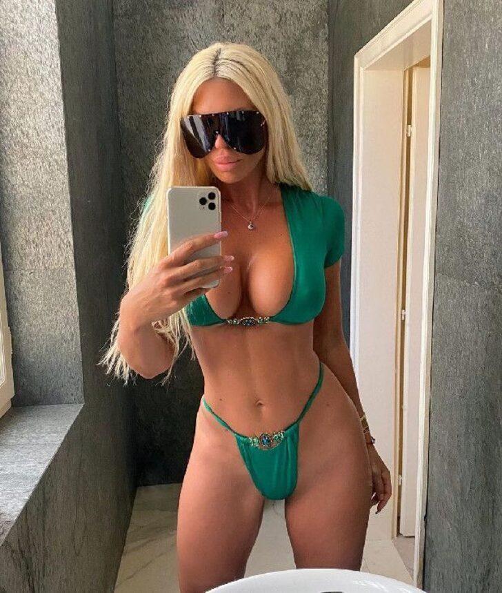 Tosic'in eski eşi Jelena Karleusa'dan olay paylaşım! Pembe bikinisiyle... - Sayfa 2
