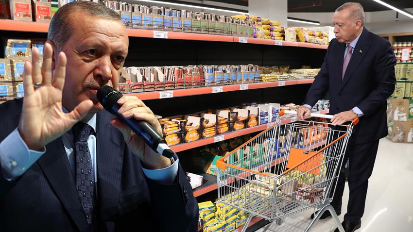 İşte Erdoğan'ın bahsettiği beş market! İsim vermeden hedef almıştı!