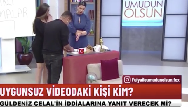 Karısını gördüğü cinsel içerikli videoyu canlı yayında izletti! Fulya Öztürk utancından bakamadı! - Sayfa 5