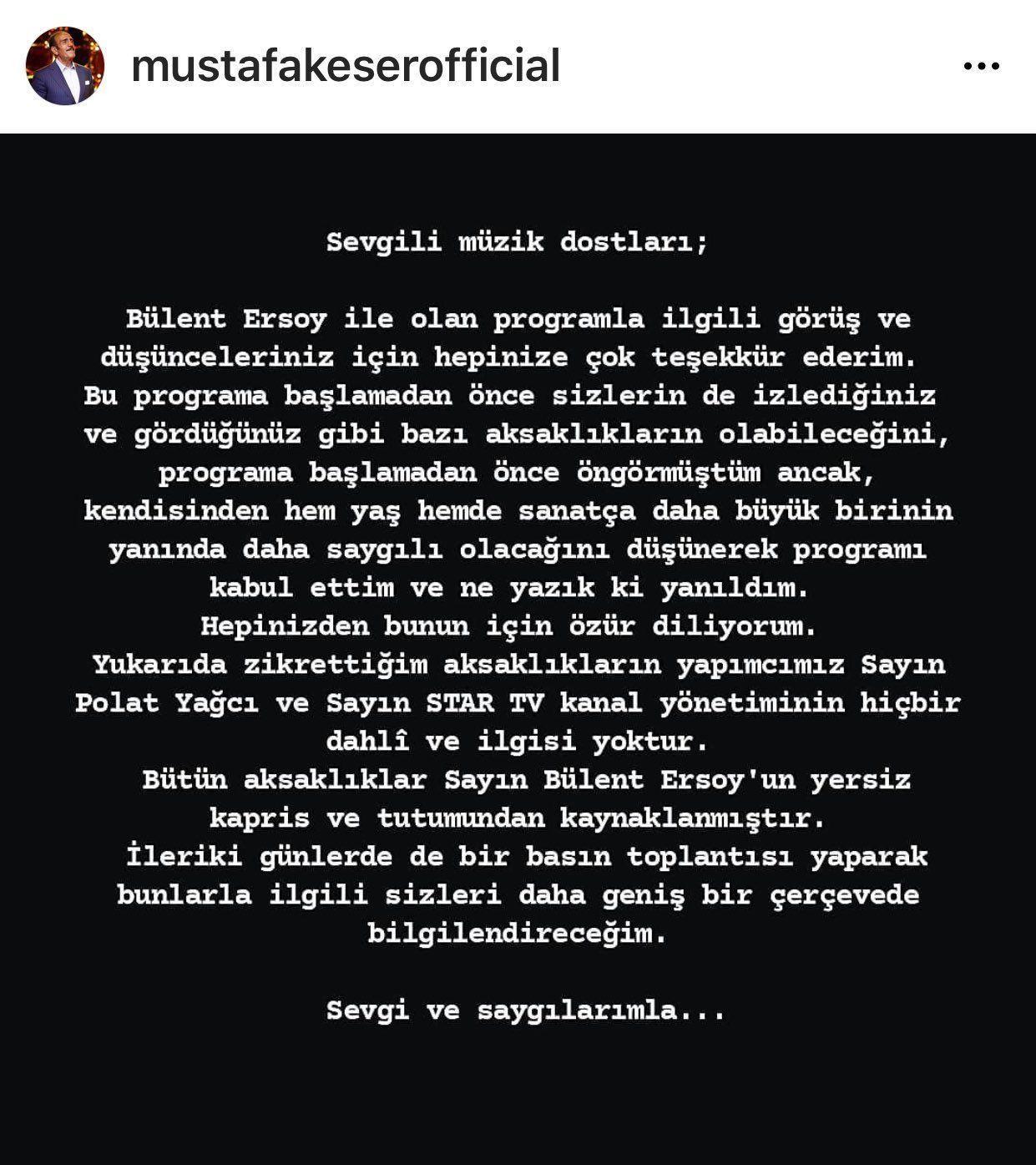Mustafa Keser'in Bülent Ersoy'a olan kızgınlığı geçmiyor: Bütün Türkiye şok olacak - Sayfa 10