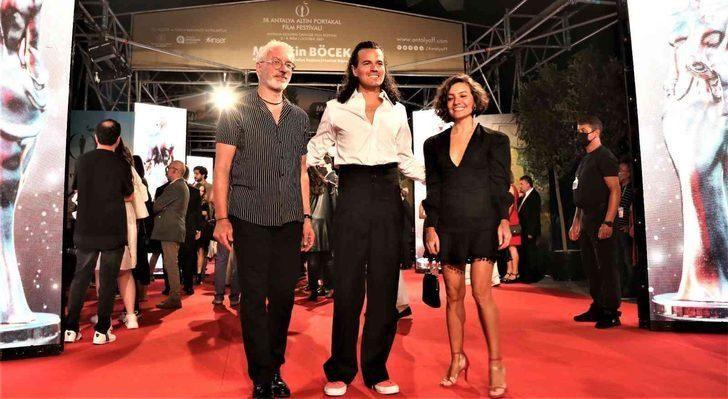 58. Antalya Altın Portakal Film Festivali'nde kırmızı halıda şıklık yarışı - Sayfa 1