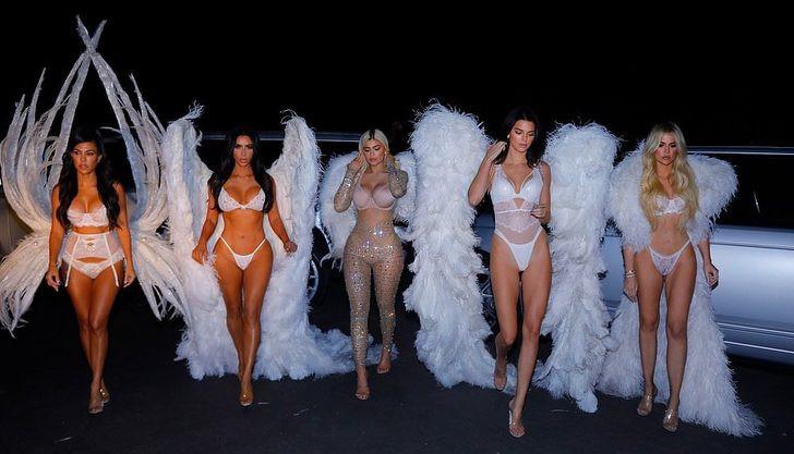 Kardashian ailesi melekleri gölgede bıraktı! - Sayfa 2