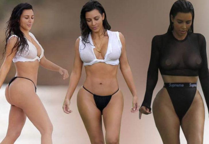 Kim Kardashian'dan bomba kalça itirafı - Sayfa 1